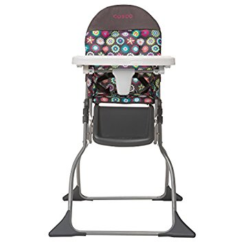 Cosco Simple Fold High Chair Sets Up in Seconds Easy to Clean and Pack  sc 1 st  Rank Dome & Best Toddler High Chairs in 2018 | Rank Dome Reviews